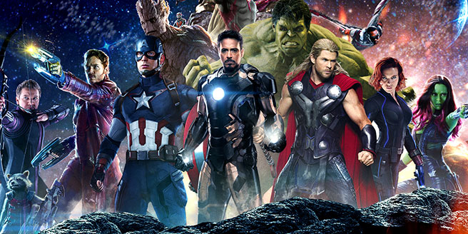 Fan-art del reparto de Avengers: Infinity War