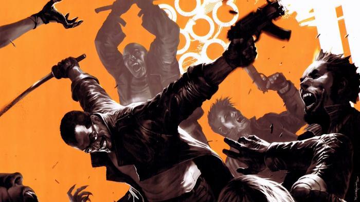 Imagen de Blade en los cómics Marvel