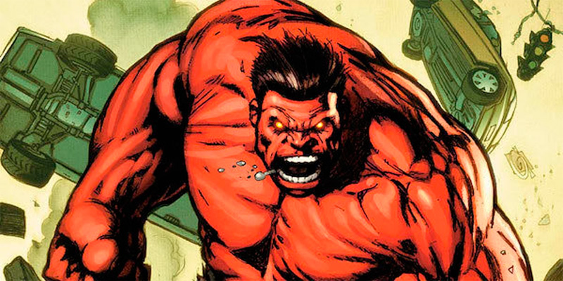 Red Hulk en los cómics Marvel