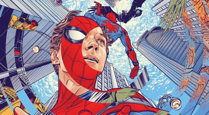 Recorte de Mondo Póster de Spider-Man: Homecoming (2017)
