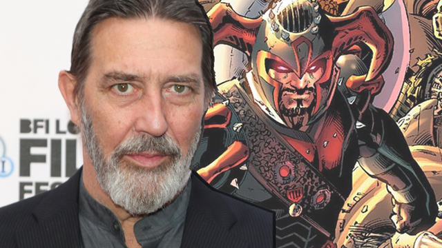 Ciaran Hinds es Steppenwolf en Justice League (2017)