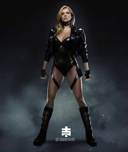 Fan Art de Katheryn Winnick como Black Canary