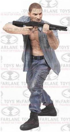 Figura de Shane Walsh de The Walking Dead, de McFarlane Toys