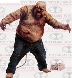 Figura de Well Zombie de The Walking Dead, de McFarlane Toys