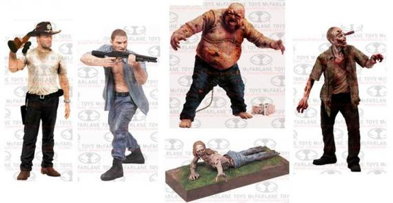 Series 2 de figuras de The Walking Dead, de McFarlane Toys
