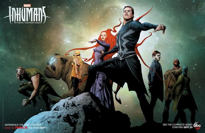 Artwork de Marvel's The Inhumans (2017) por Jae Lee