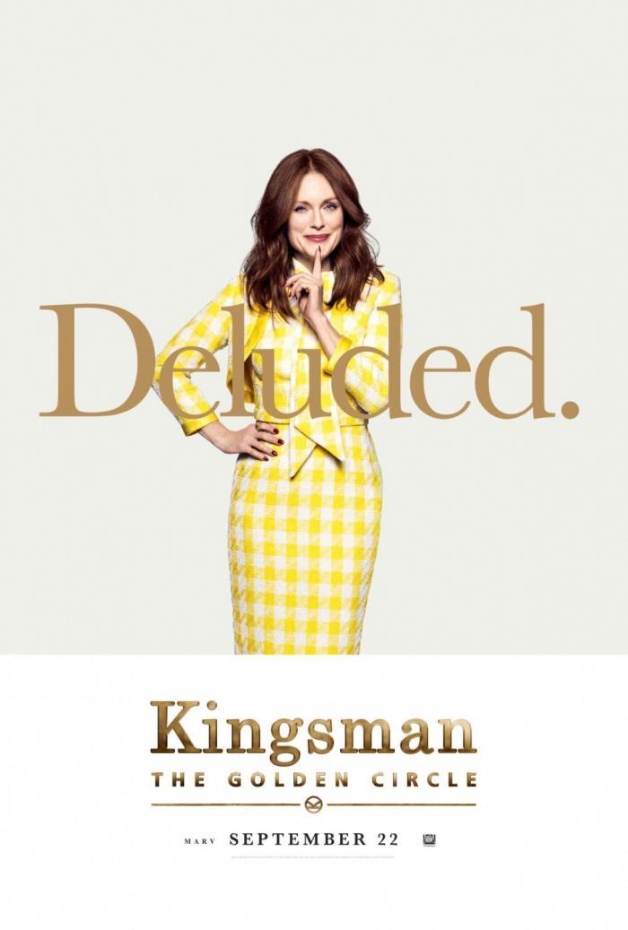 Póster individual de Kingsman: El círculo de oro (2017), Julianne Moore es Poppy
