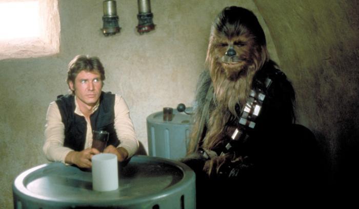Imagen de Star Wars: Episodio IV - Una Nueva Esperanza (1977), Han Solo y Chewbacca