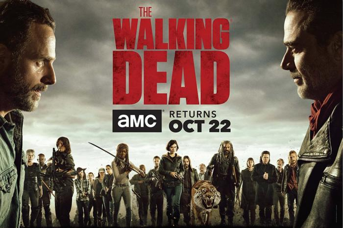 Banner de la octava temporada de The Walking Dead