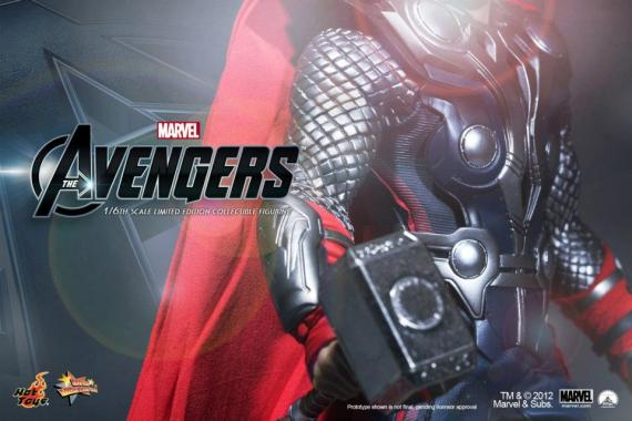 Figura de Thor de The Avengers (2012) de Hot Toys