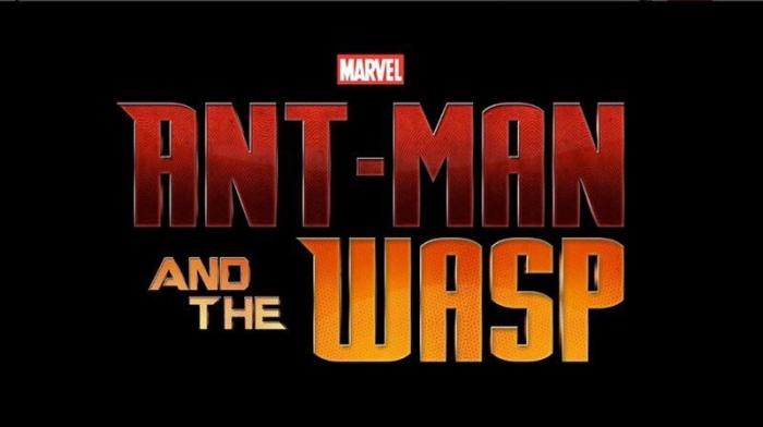 Logo final de Ant-Man and the Wasp (2018), mostrado enla San Diego Comic Con 2017