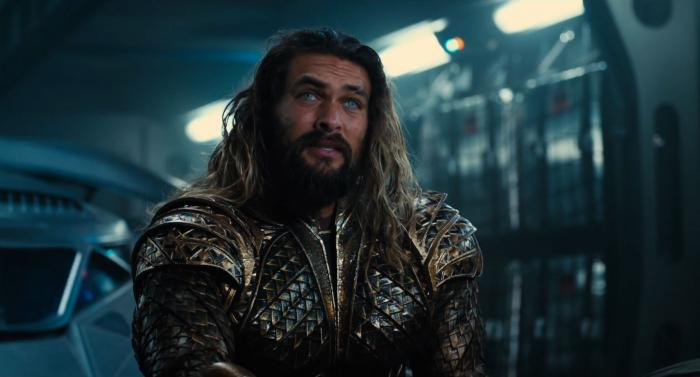 Captura del segundo trailer de Justice League (2017), Aquaman