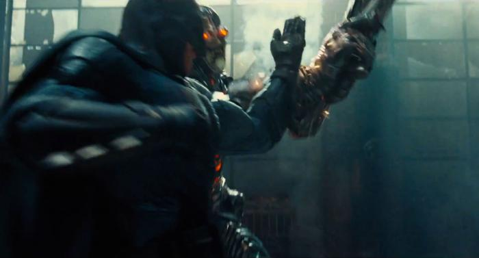 Captura del segundo trailer de Justice League (2017), Batman