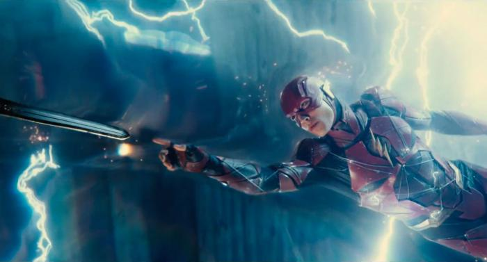 Captura del segundo trailer de Justice League (2017), Flash