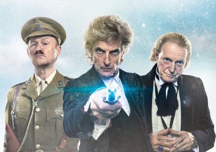 Imagen promocional de Twice Upon a Time, el especial navideño de 2017 de Doctor Who (2005 - ?)