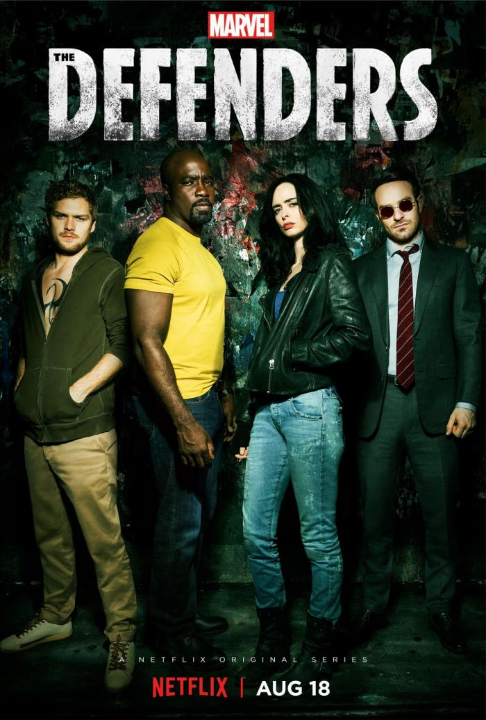 Poster de la primera temporada de The Defenders (2017 - ?)