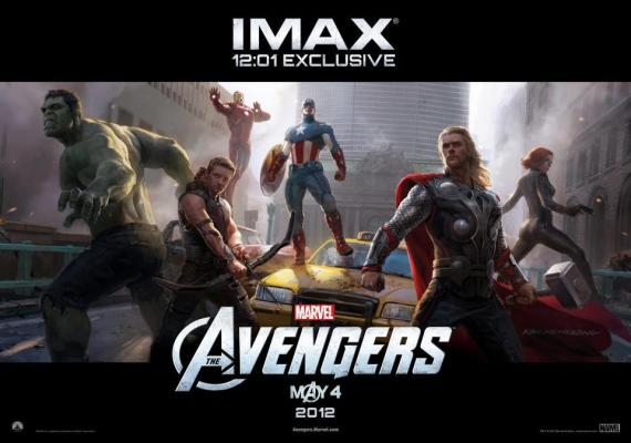 Póster exclusivo IMAX de The Avengers (2012), arte por Ryan Meinerding