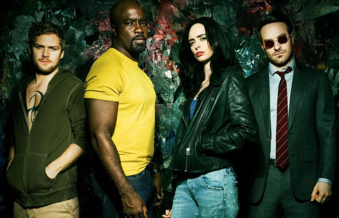 Recorte del poster de The Defenders (2017 - ?)