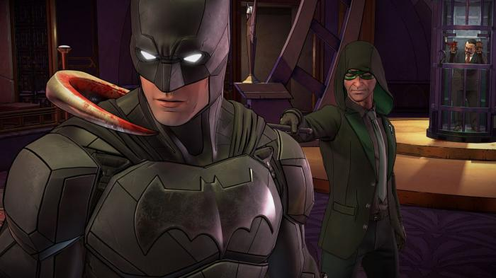 Imagen del primer capítulo de Batman: The Enemy Within (2017)