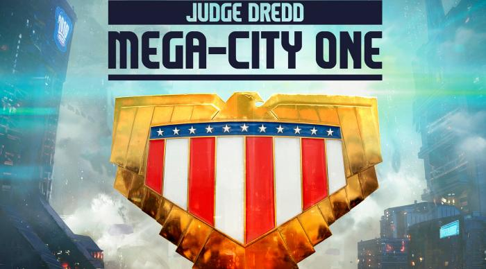 Teaser promocional de Judge Dredd: Mega City One