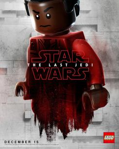 Póster de Star Wars: The Last Jedi (2017), Finn