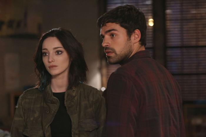 Imagen del primer episodio de la primera temporada de The Gifted (2017)