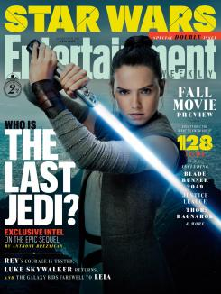 Portada de Entertainment Weekly dedicada a Star Wars: The Last Jedi (2017)