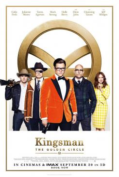 Póster oficial de Kingsman: The Golden Circle (2017) para Reino Unido