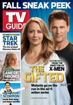 La serie The Gifted en la revista TV Guide