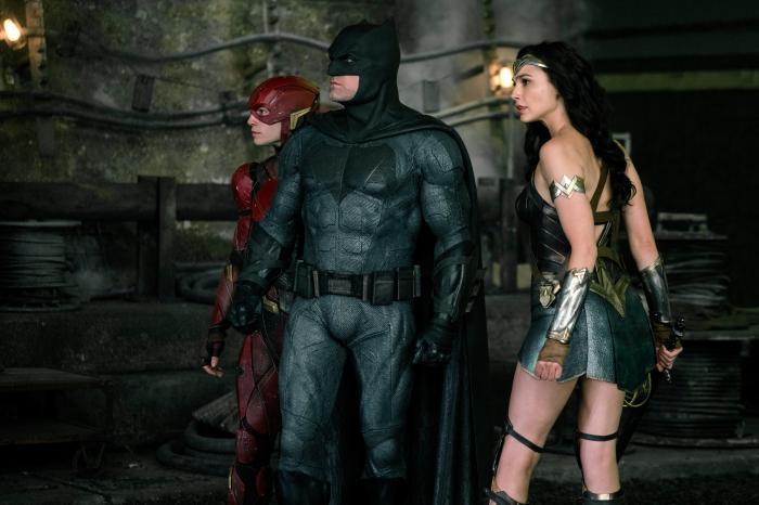 Imagen de Liga de la Justicia (2017), Batman, Wonder Woman y Flash