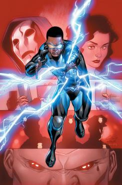 Imagen portada de Lapices de Black Lightning: Cold Dead Hands #1