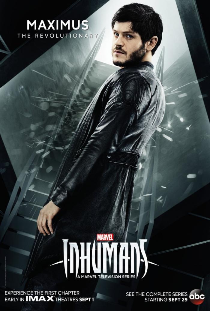Póster individual de la primera temporada de la serie Inhumans (2017), Maximus