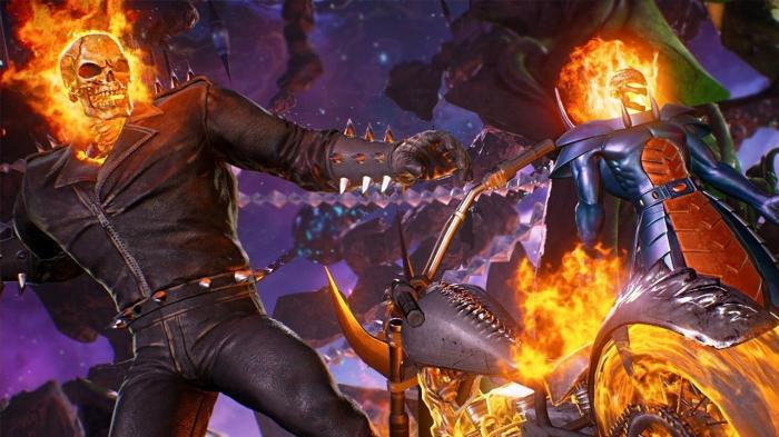 Imagen de Marvel vs. Capcom: Infinite (2017), Ghost Rider y Dormammu