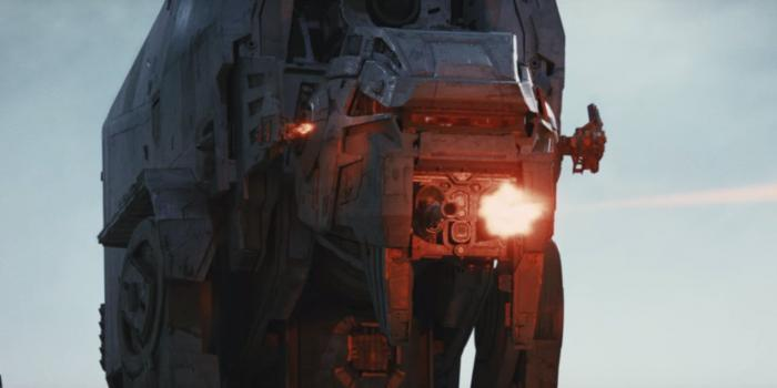 AT-M6 de la Primera Orden en Star Wars: The Last Jedi (2017)