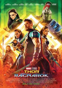 Póster en español de Thor: Ragnarok (2017)