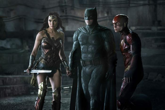 Imagen de Liga de la Justicia (2017) con Wonder Woman, Batman y Flash