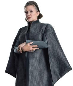 Imagen promocional de Star Wars: The Last Jedi (2018), General Leia