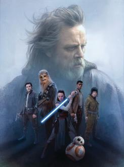 Promo art de Star Wars: The Last Jedi (2017)