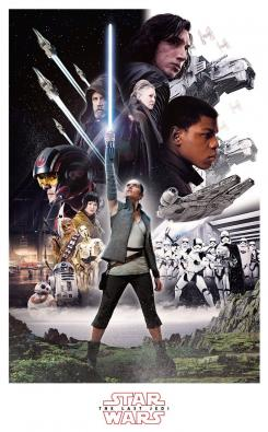 Póster de Star Wars: The Last Jedi (2017)