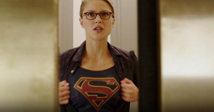 Captura de la tercera temporada de Supergirl