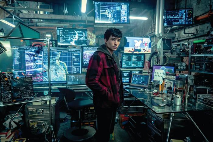 Imagen de Justice League (2017), Ezra Miller como Barry Allen / Flash