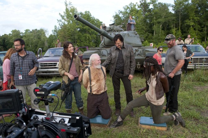 Imagen del set de The Walking Dead (2010 - ?)