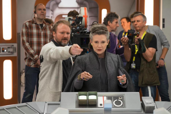 Imagen oficial del set de Star Wars: The Last Jedi / Star Wars: Los últimos Jedi (2017)