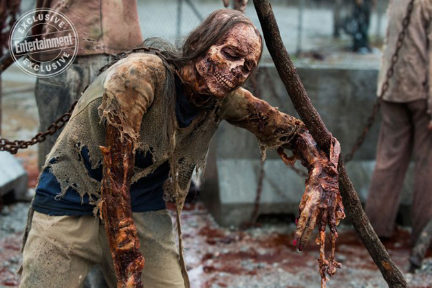 Imagen de la octava temporada de The Walking Dead
