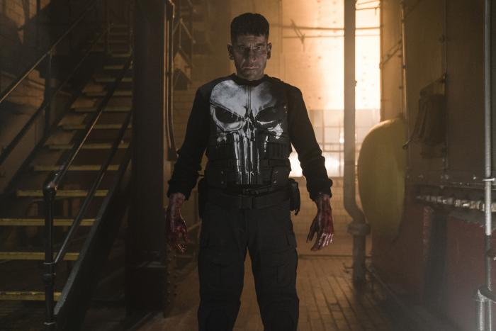 Imagen de la primera temporada de The Punisher