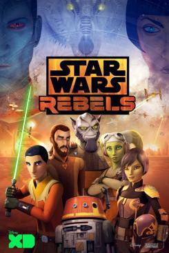 Póster de la cuarta temporada de Star Wars Rebels