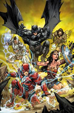 Portada alternativa de Justice League #32, por Howard Porter