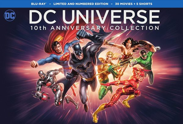 Imagen promocional de DC Universe Original Movies: 10th Anniversary Collection