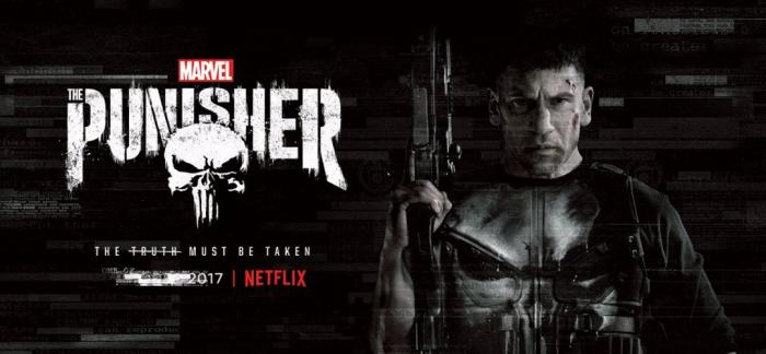 Banner de la primera temporada de Punisher