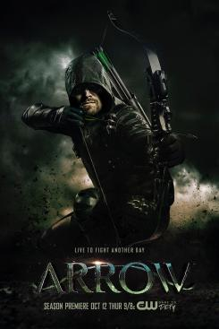 Póster de la sexta temporada de Arrow